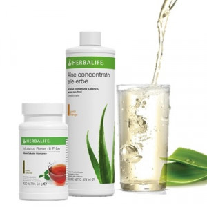The + Aloe concentrato