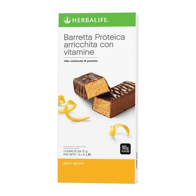 Barrette snack con vitamine - Agrumi
